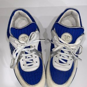 Genuine CHANEL Sneakers (size 39 1/2)
